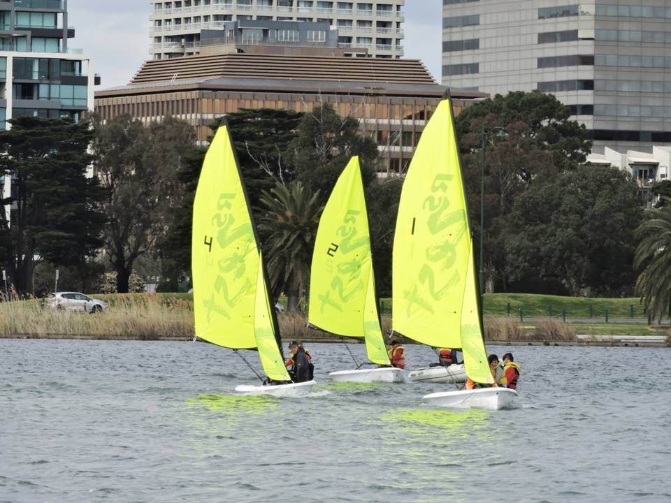 RS Zests Learn to Sail course